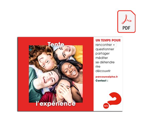 PDF Affiche A4 Jeunes